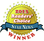 2013 Star News Readers' Choice Winner