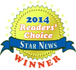 2014 Star News Readers' Choice Winner